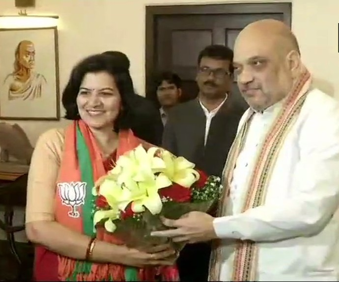 Aparajita Sarangi joins BJP
