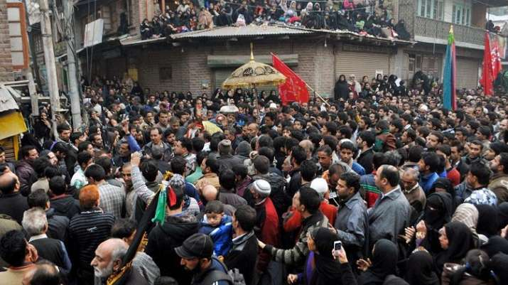Bull attack on Shia procession