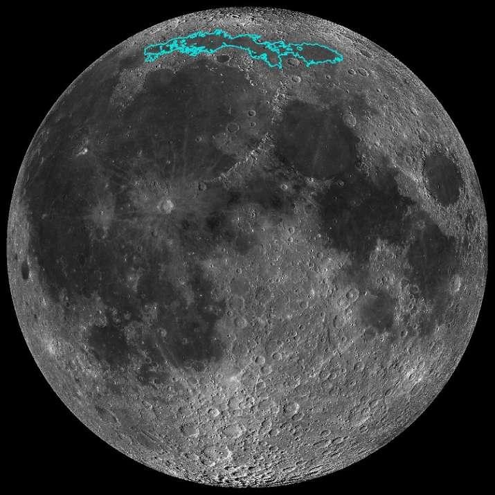 Moon gradually shrinking and causing earthquakes