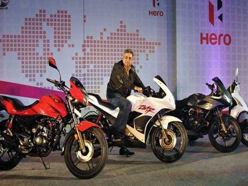 Hero MotoCorp's May sales up