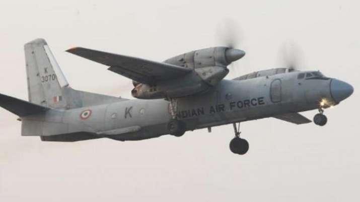 Missing AN-32 aircraft