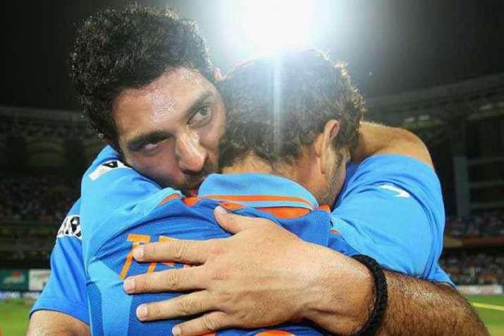 Thanks for all that you have done for cricket: Sachin Tendulkar tells Yuvraj Singh