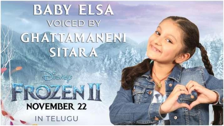 Frozen 2 Telugu: Mahesh Babu's daughter Sitara to give her voice for baby Elsa